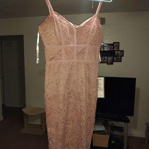 B.Darlin spaghetti strap lace dress